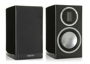 Monitor Audio Bookshelf Speaker Piano Gloss Black Monitor Audio Gold 50 Bookshelf Speaker - Pair