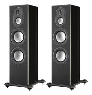 Monitor Audio Floorstanding Speaker Piano Gloss Black Monitor Audio PL300II Floorstanding Loudspeaker - Pair