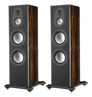 Monitor Audio Floorstanding Speaker Piano Gloss Ebony Monitor Audio PL300II Floorstanding Loudspeaker - Pair