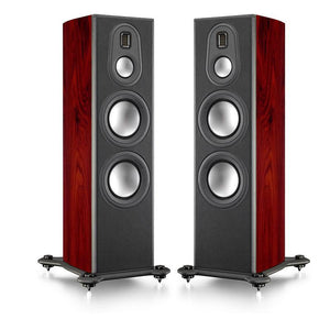 Monitor Audio Floorstanding Speaker Piano Gloss Santos Rosewood Monitor Audio PL300II Floorstanding Loudspeaker - Pair