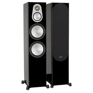 Monitor Audio Floorstanding Speaker Black Oak Monitor Audio Silver 500 Floorstanding Speaker - Pair