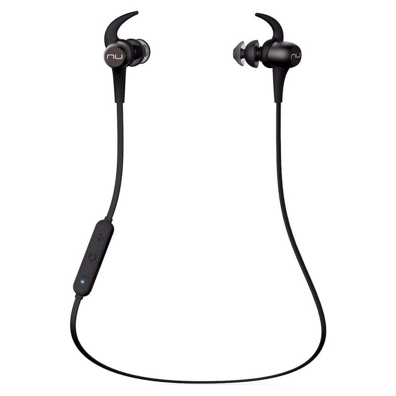 NuForce Headphones Gunmetal Grey NuForce BE Sport3 Headphones
