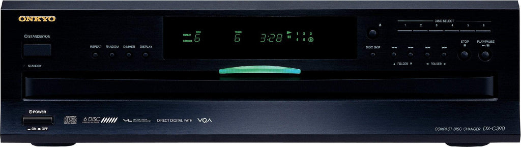 Onkyo DX-C390 6-Disc CD Carousel Changer - Ultra Sound & Vision