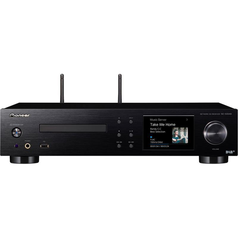 Pioneer NC-50DAB CD Player, Streamer and Amplifier - Ultra Sound & Vision