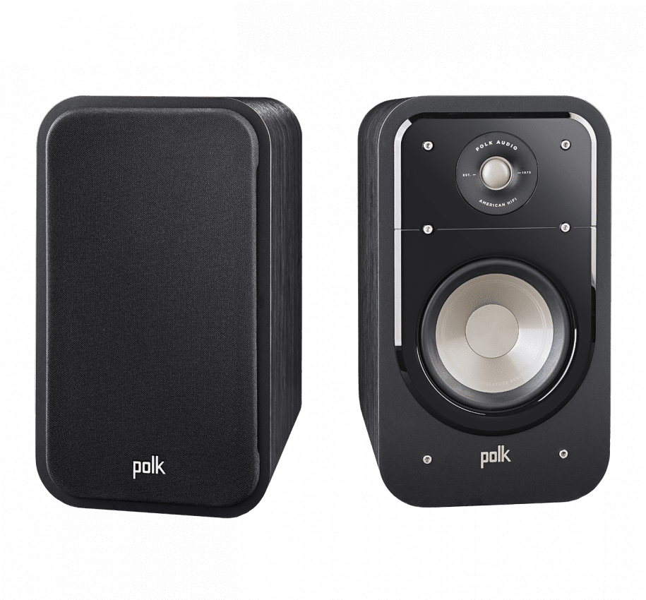 Polk S20 Bookshelf Speaker - Pair - Ultra Sound & Vision