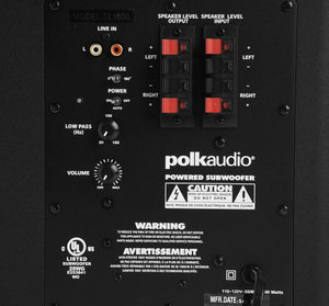 Polk 5.1 Package Black Polk TL 5.1 Home Theater System