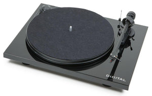 Pro-ject Turntable Black / New Pro-ject Essential II Digital Turntable