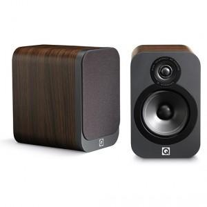 Q Acoustics Bookshelf Speaker American Walnut Q Acoustics 3020 Bookshelf Speaker - Pair