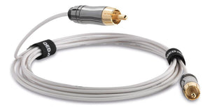 QED Subwoofer Cable 3m QED Performance Mini Subwoofer Cable