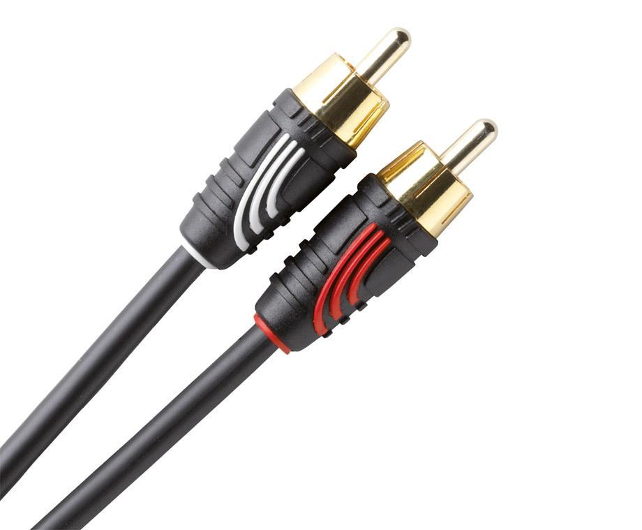 QED Profile Audio Phono Cable - Ultra Sound & Vision
