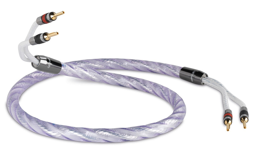 QED Signature Genesis Silver Spiral Speaker Cable - Per Metre - Ultra Sound & Vision