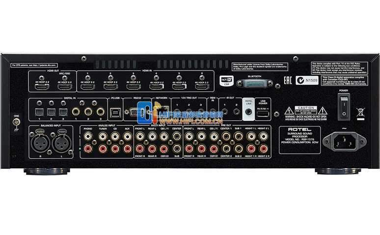 Rotel Rsp 1576 Surround Sound Processor Ultra Sound Amp Vision