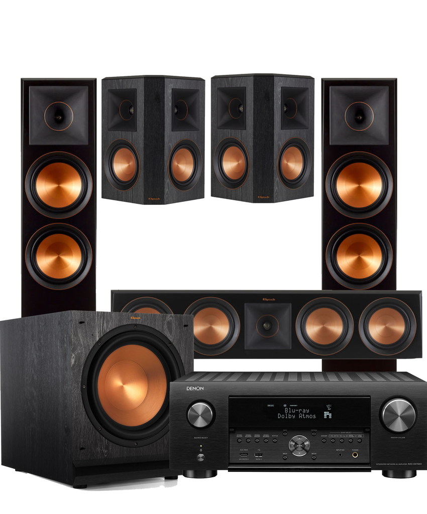 Klipsch RP8000F Cinema Package - Ultra Sound & Vision