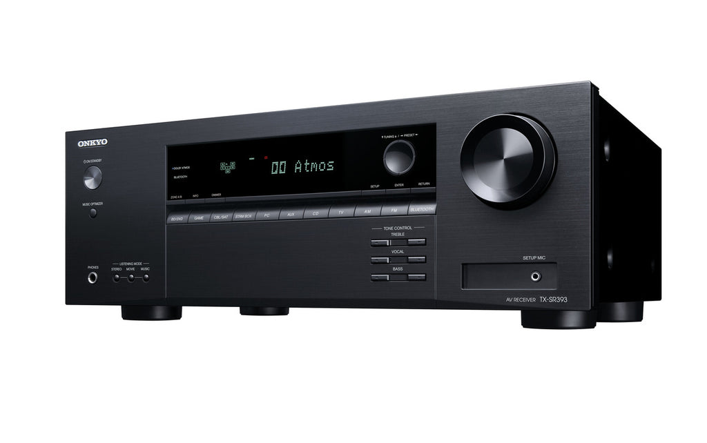 Onkyo TX-SR393 5.2 Channel AV Receiver - Ultra Sound & Vision