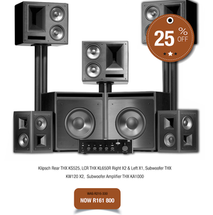 Klipsch KL650 THX Cinema Package - Ultra Sound & Vision