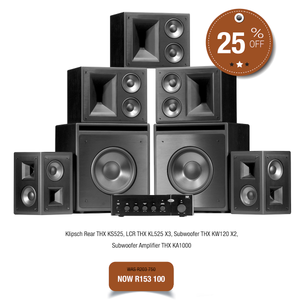Klipsch KL525 THX Cinema Package - Ultra Sound & Vision