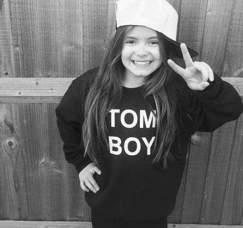 TOMBOY SWEATSHIRT GIRLS