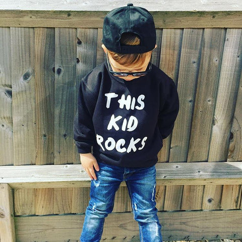 THIS KID ROCKS SWEATSHIRT