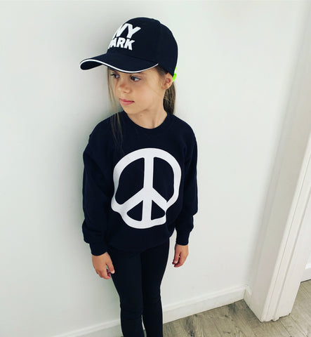 PEACE KIDS UNISEX SWEATSHIRT