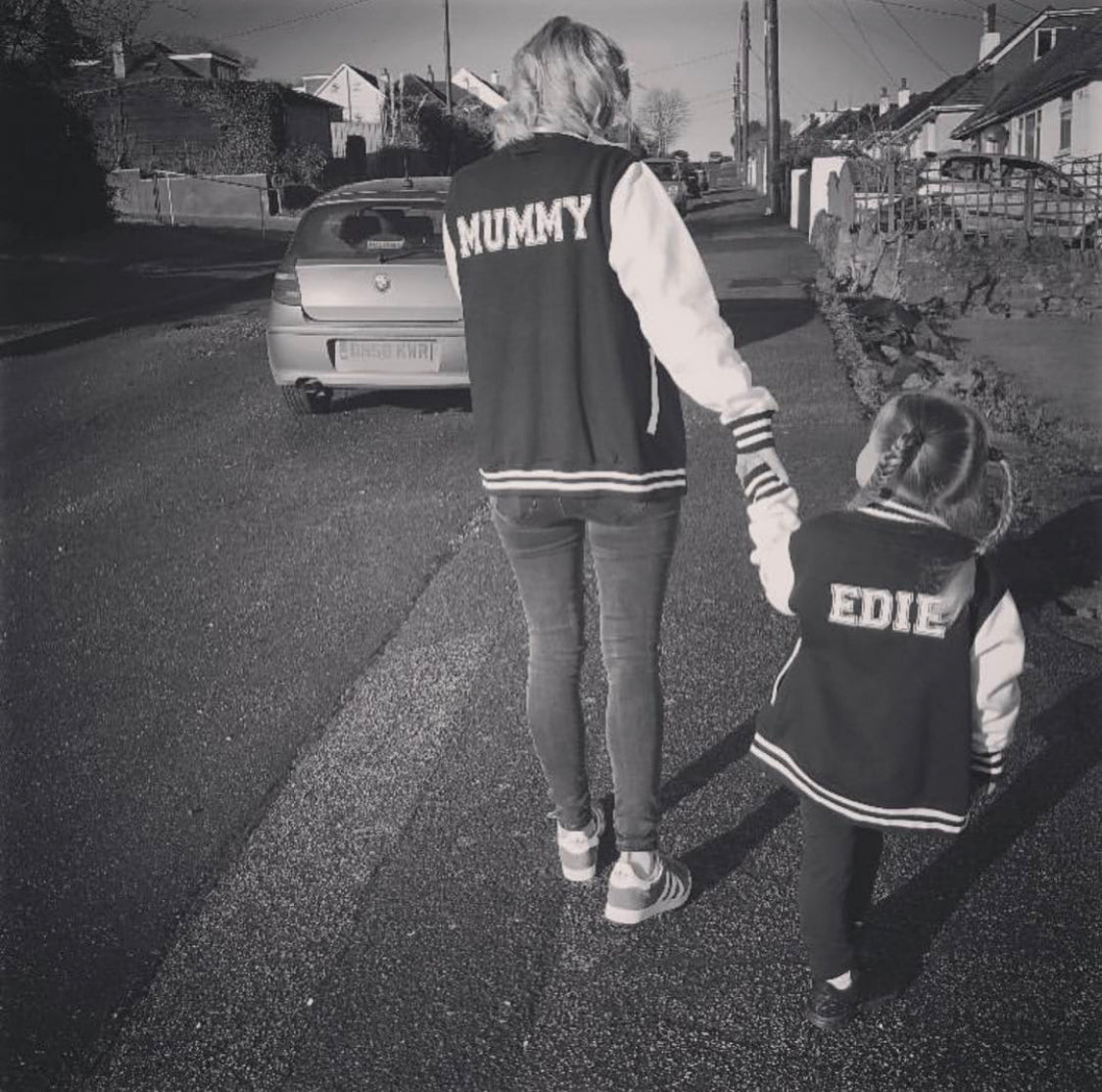 MUMMY/PERSONALISED ADULTS VARSITY JACKET