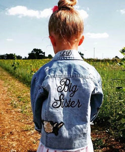 BIG SISTER CUSTOM DENIM JACKET