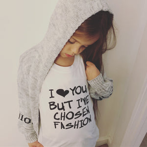 FASHION GIRLS HOODED CARDIGAN
