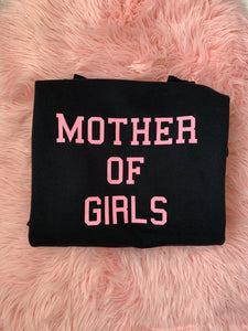 MOTHER OF.... CUSTOM WOMENS SWEATSHIRT