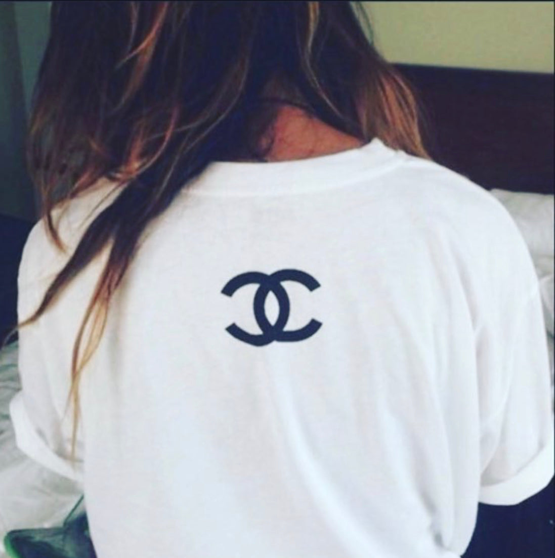 CC BACK WOMENS T SHIRT