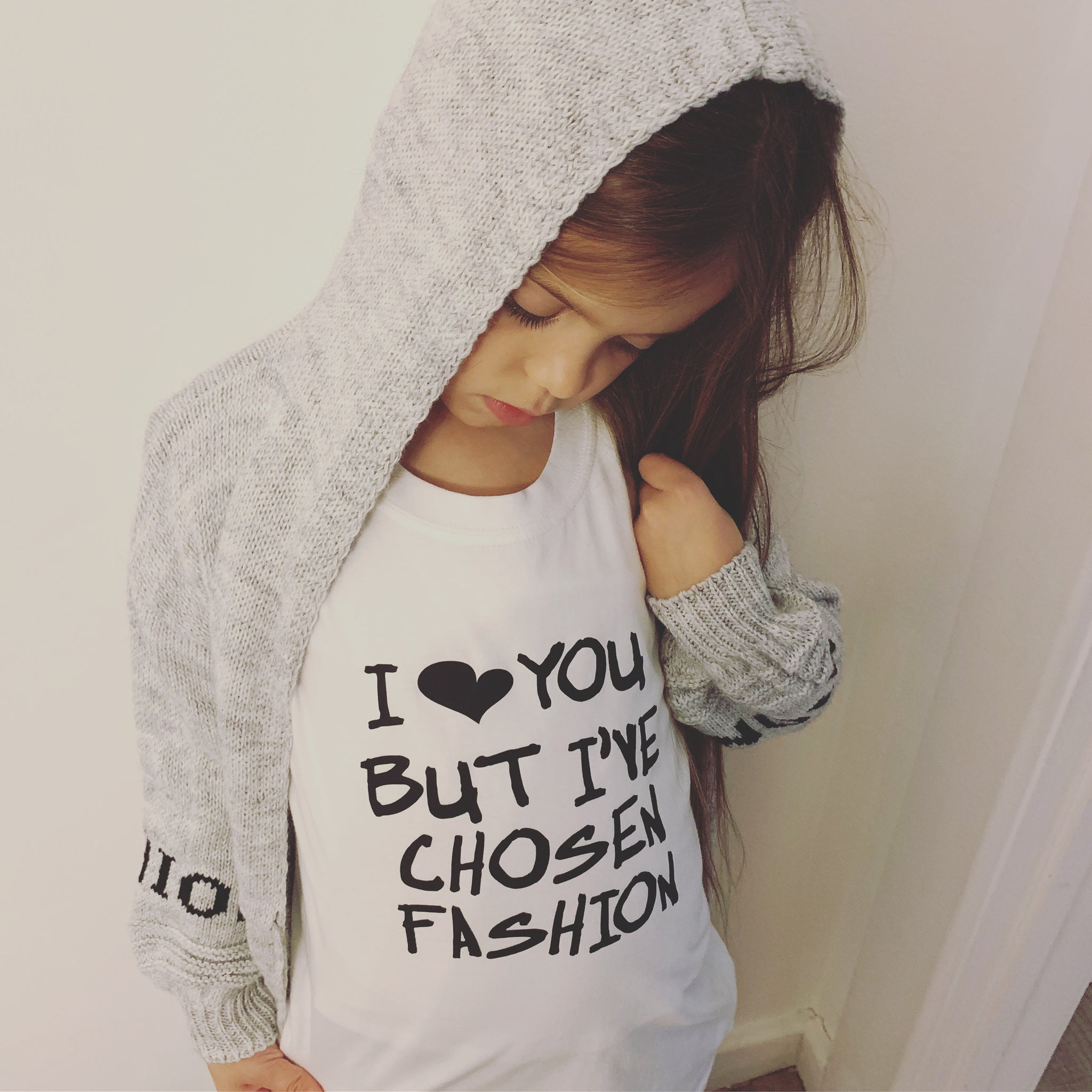 I 🖤 YOU BUT IVE CHOSEN FASHION T SHIRT