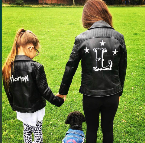PERSONALISED PU LEATHER JACKET