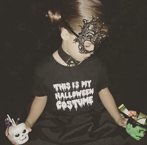 WOMENS DRIPPING HALLOWEEN T SHIRT