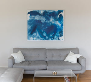 Sound of Ice - 100 x 120 cm