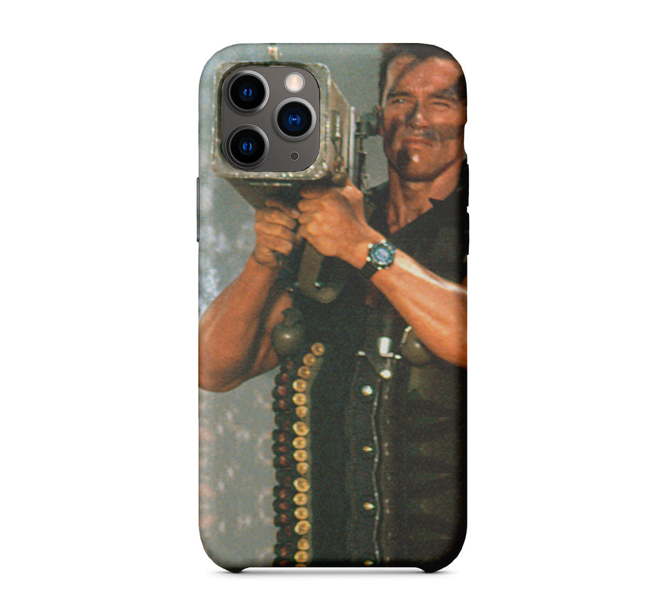 "Commando ""Terminator"" Phone Case Inspired By Arnold Schwarzenegger"