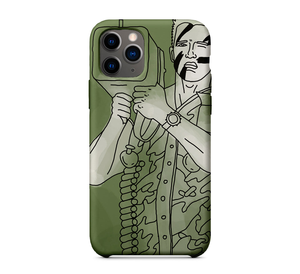"Water Green ""Terminator"" Phone Case Inspired By Arnold Schwarzenegger"