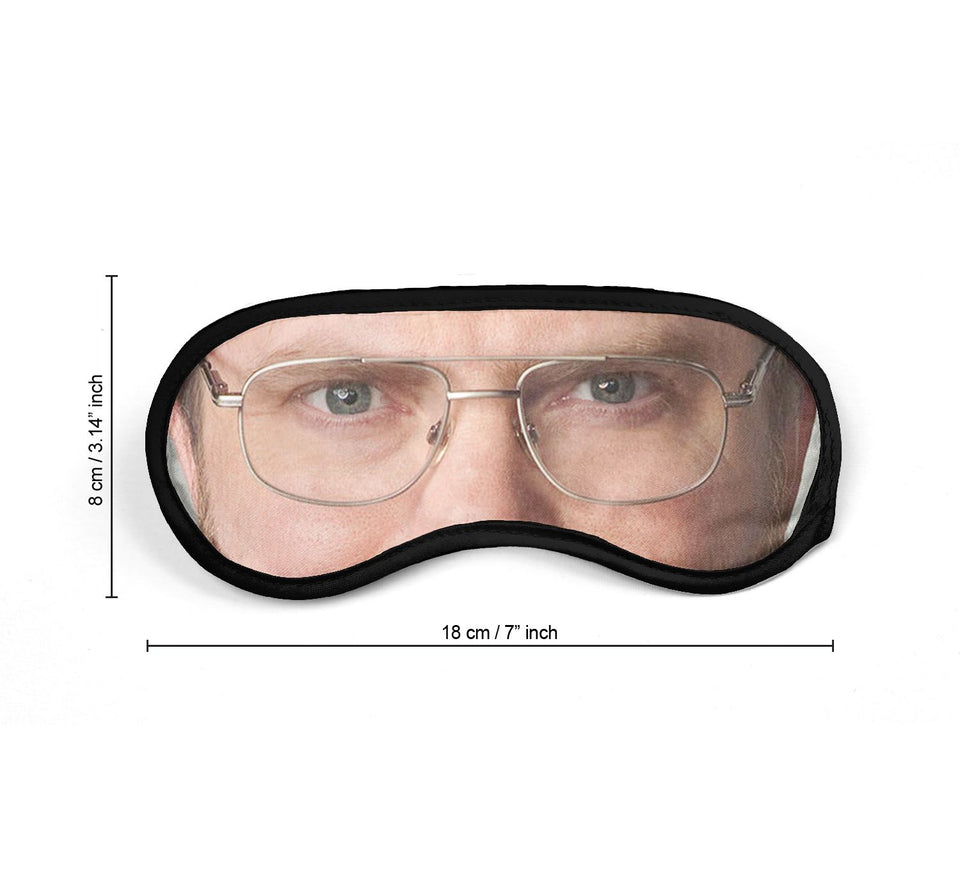 Dwight The Office Actor Eyes_SM012 Sleep mask, Sleeping Eye Masks, Traveling Accessories Women, Men, Kids, Soft Masks For Sleeping, Eye Cover For Travel, Funny Comfortable Blindfold