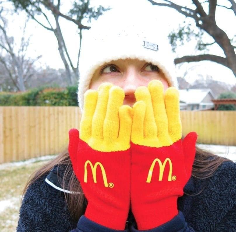 "Amazing HANDMADE ""MCD"" Knitted Gloves *ONLY 10 PAIRS AVAILABLE"