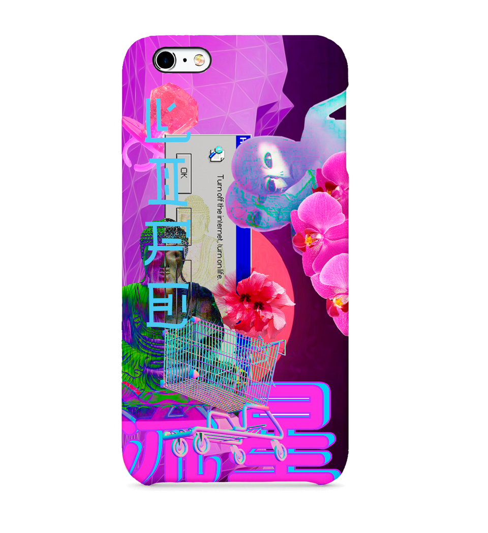 3D full-print Phone case | VaporWave Collection