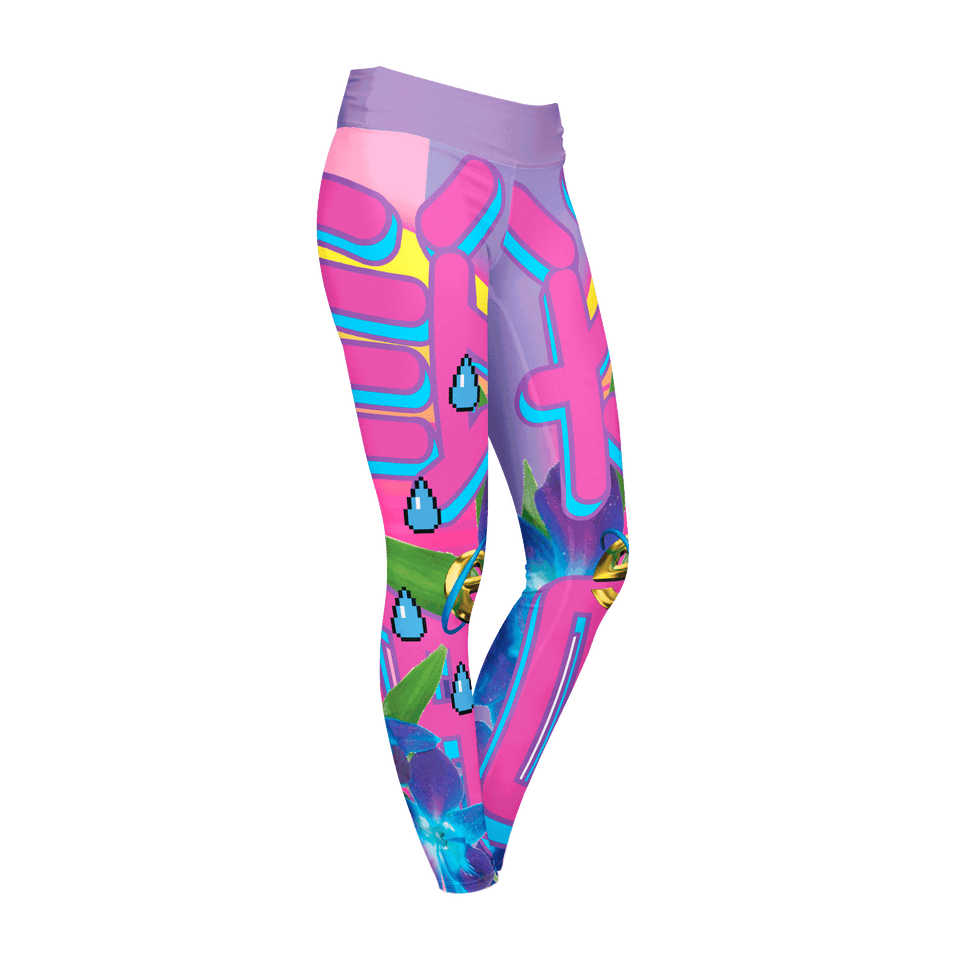 Full-Print Leggings | VaporWave Collection
