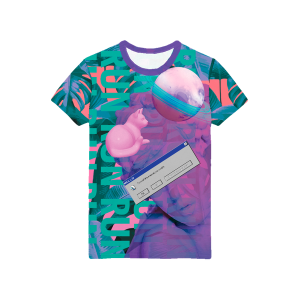 Full-Print T-Shirt | VaporWave Collection