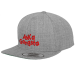 Gray snapback hat | ASK a Gangsta