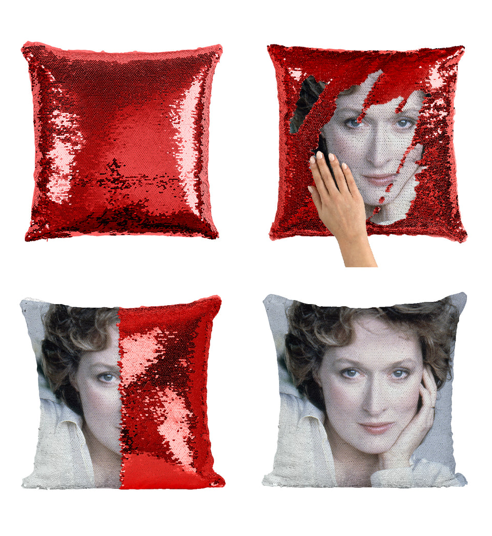 Meryl Streep The Devil Wears Prada_MA0249 Sequin Pillow