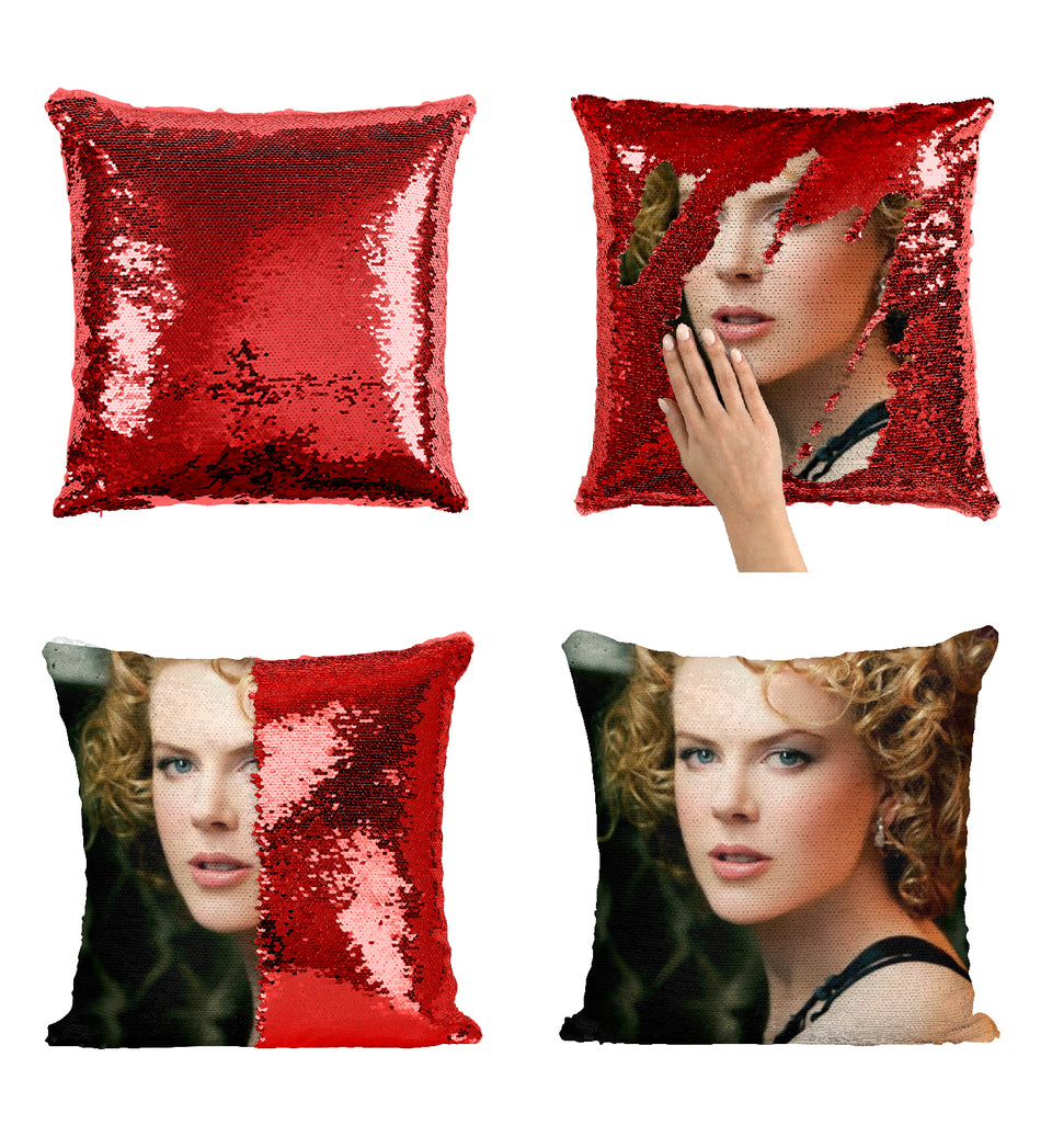 Nicole Kidman Actress Practical Magic Movie_MA0272 Sequin Pillow