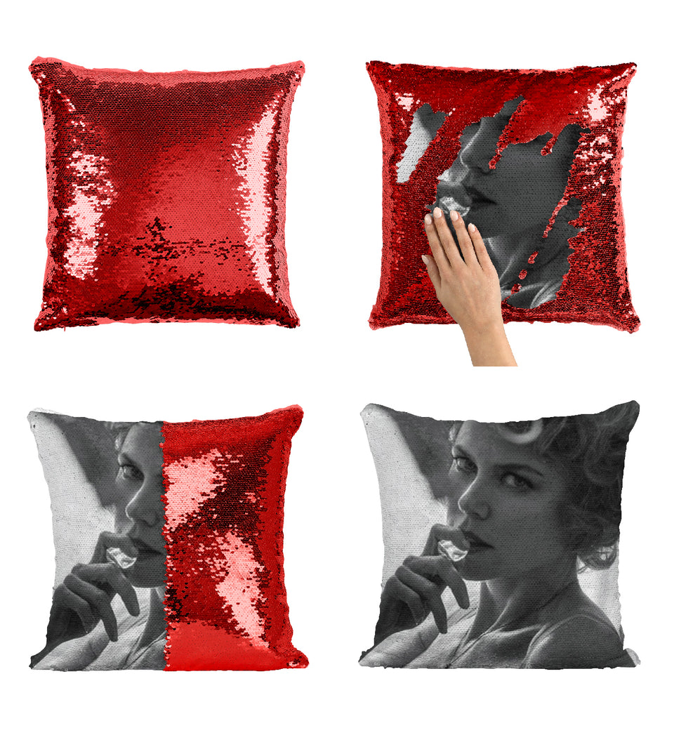 Nicole Kidman Beautiful Actress_MA0273 Sequin Pillow