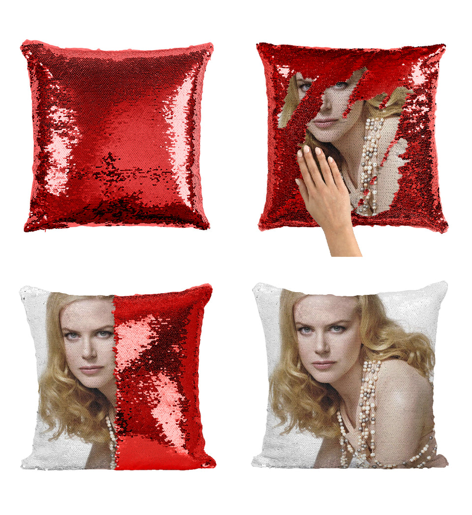 Nicole Kidman The Aquaman Movie Actress_MA0274 Sequin Pillow