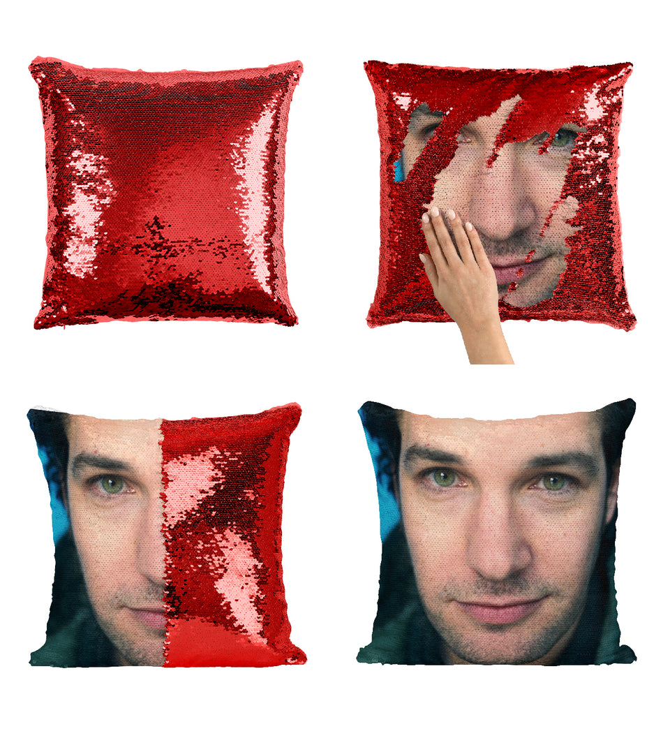 Paul Rudd Ant Man Movie Actor_MA0279 Sequin Pillow