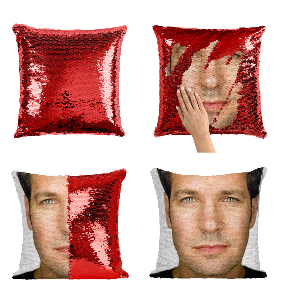 Paul Rudd Beautiful Actor_MA0280 Sequin Pillow