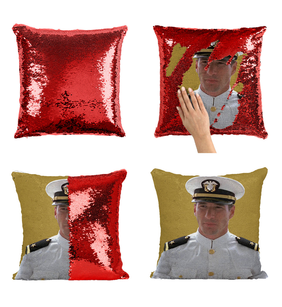 Richard Gere Captain Uniform_MA0290 Sequin Pillow