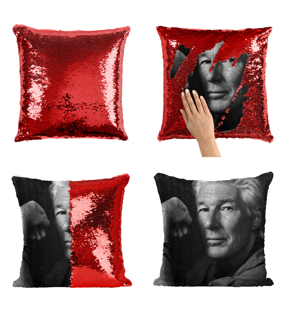Richard Gere Pretty Woman Actor_MA0291 Sequin Pillow