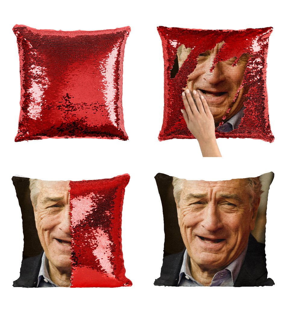 Robert De Niro The Godfather_MA0295 Sequin Pillow