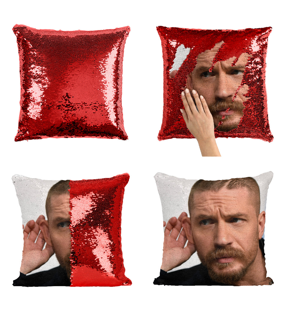 Tom Hardy Venom Movie Actor_MA0358 Sequin Pillow